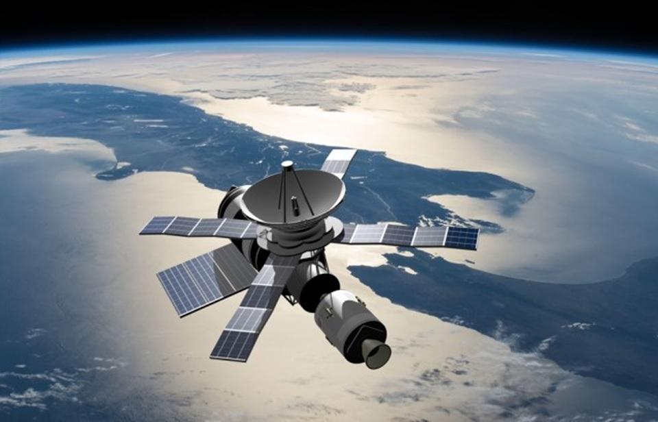 La teledetección se lleva a cabo, entre otros, con satélites