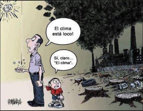 El calentamiento global por Molina