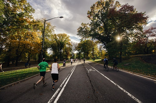 Carriles bici, zonas peatonales y parques